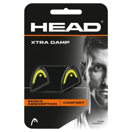 Antivibrador Head Xtra Damp Amarelo - 2 Und