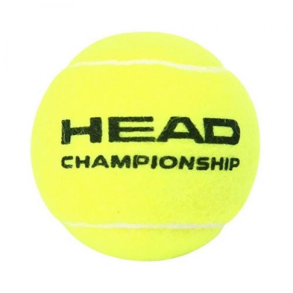 Tubo de Bola Head Championship - 3 Bolas