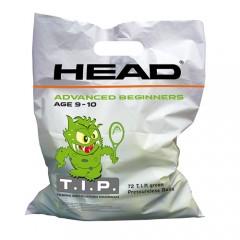 Saco de Bolas Head TIP Verde